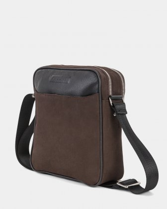 BALANCE - CROSSBODY BAG with Adjustable shoulder strap - BROWN  Bugatti