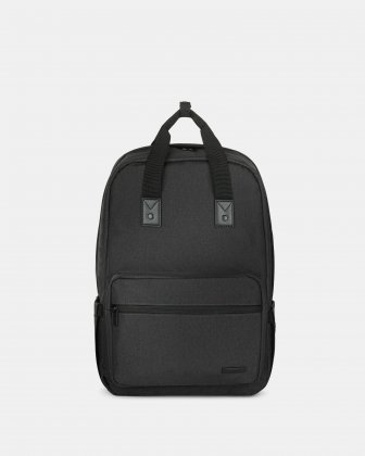 "Traveller - Backpack for 15.6"" Laptop with Exterior bottle pocket - Charcoal Bugatti"
