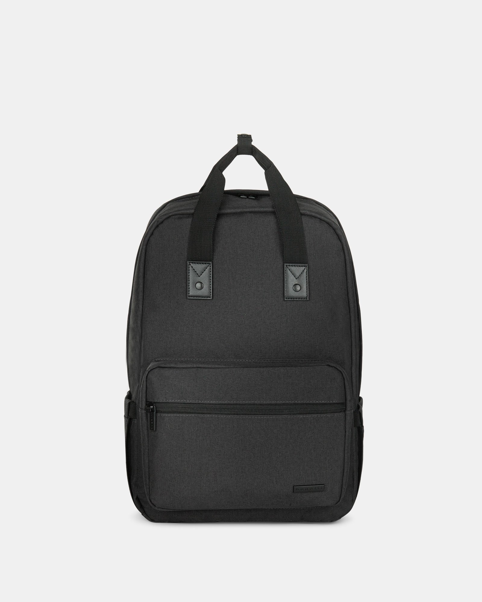 "Traveller - Backpack for 15.6"" Laptop with Exterior bottle pocket - Charcoal - Bugatti - Zoom"