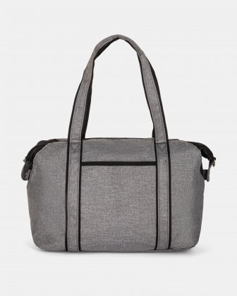 PRIVATE - TOTE BAG FOR DIAPERS IN NYLON - GREY Mouflon