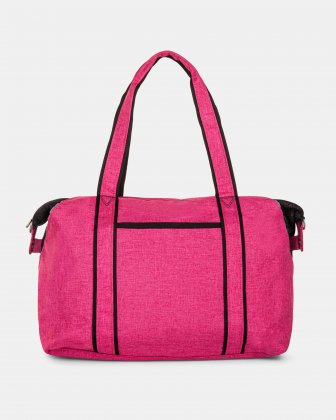 Mouflon PRIVATE - TOTE BAG FOR DIAPERS IN NYLON - PINK