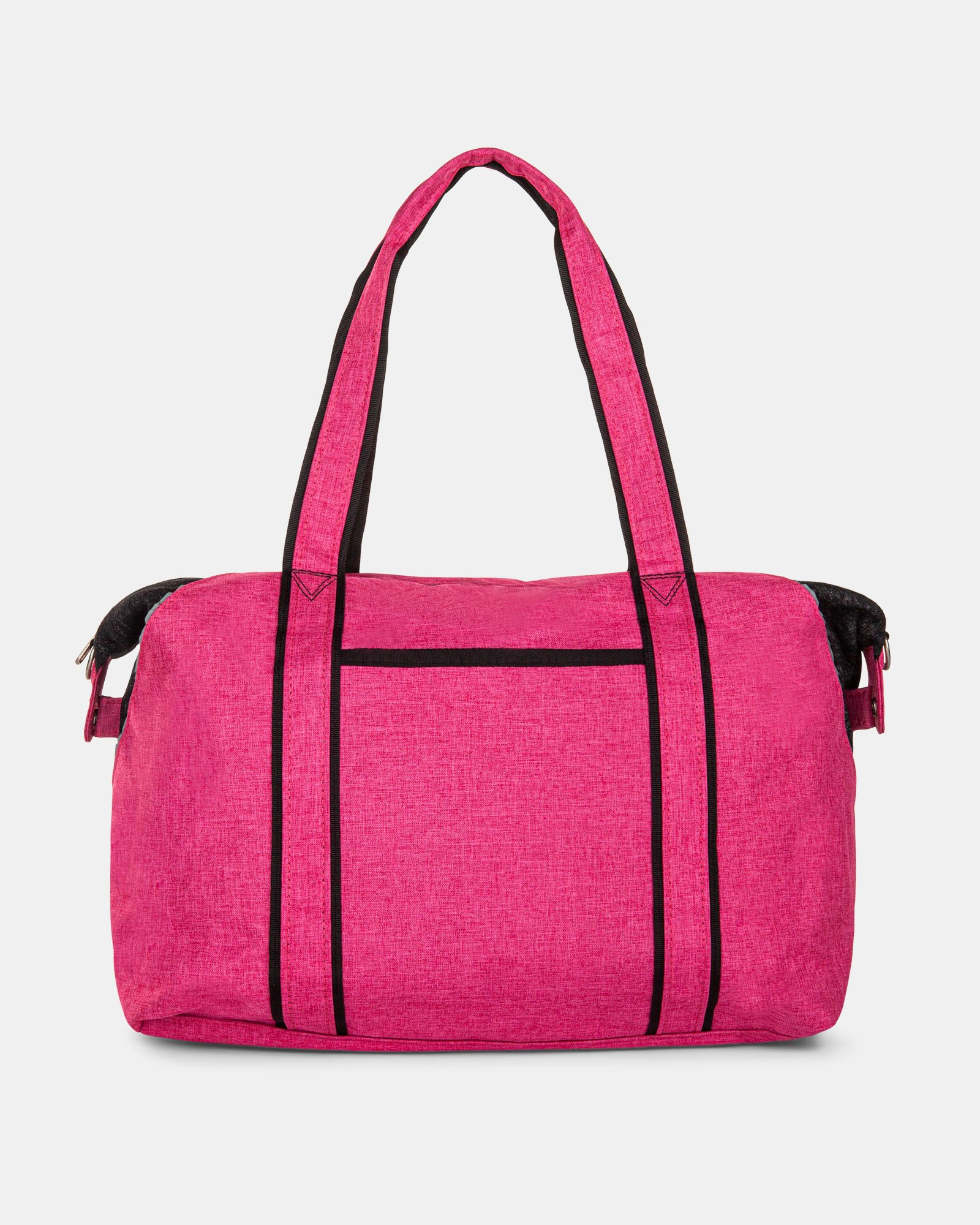 PRIVATE - TOTE BAG FOR DIAPERS IN NYLON - PINK - Mouflon - Zoom