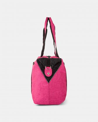 PRIVATE - TOTE BAG FOR DIAPERS IN NYLON - PINK - Mouflon