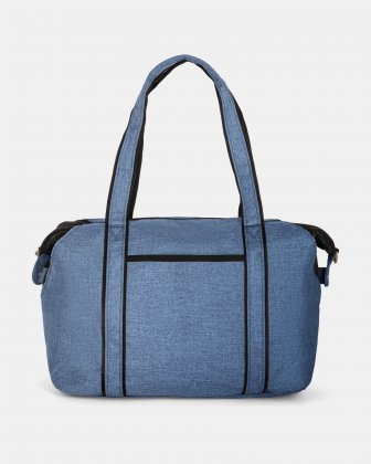 PRIVATE - TOTE BAG FOR DIAPERS IN NYLON - NAVY Mouflon