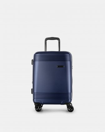 NASHVILLE - HARDSIDE CARRY-ON in 100% recycled plastic with TSA lock - Navy Bugatti