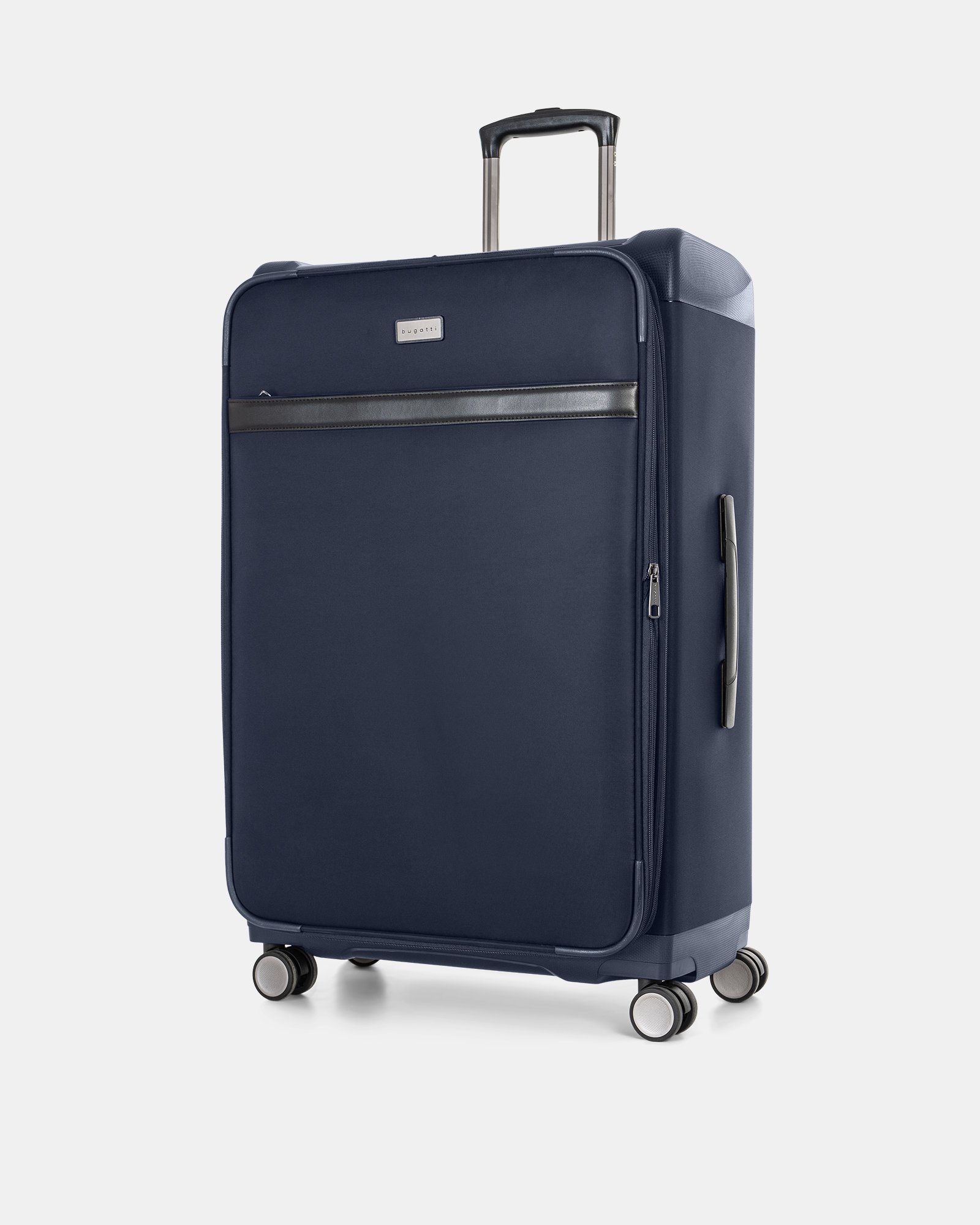 "WASHINGTON -  29"" HYBRID CARRY-ON HARDSIDE/SOFTSIDE with tsa lock - NAVY - Bugatti - Zoom"