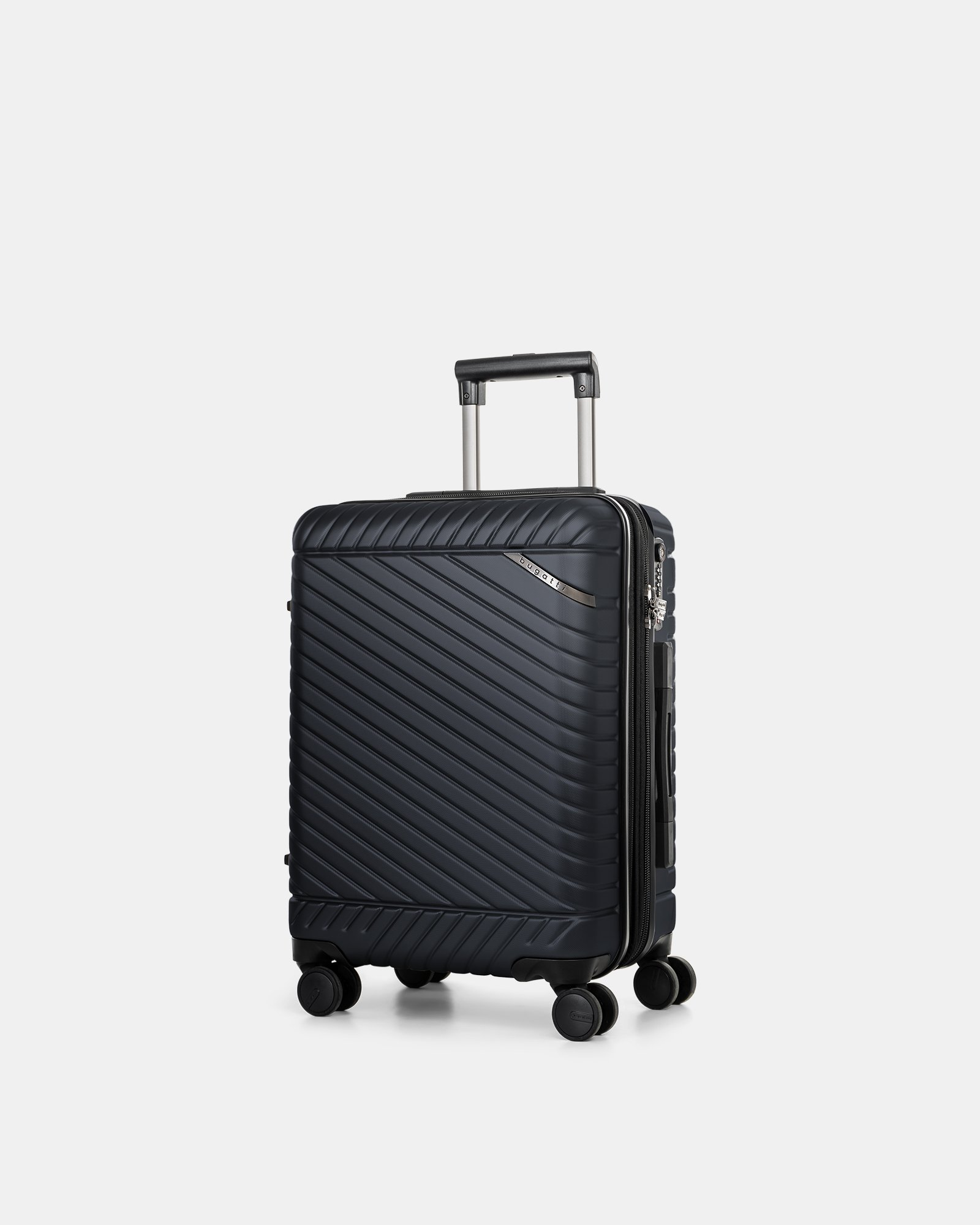 """MOSCOW -  20.75"""" HARDSIDE CARRY-ON 100% POLYCARBONATE WITH TSA LOCK - NAVY - Bugatti - Zoom"""