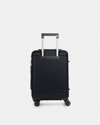 """MOSCOW -  20.75"""" HARDSIDE CARRY-ON 100% POLYCARBONATE WITH TSA LOCK - NAVY - Bugatti"""