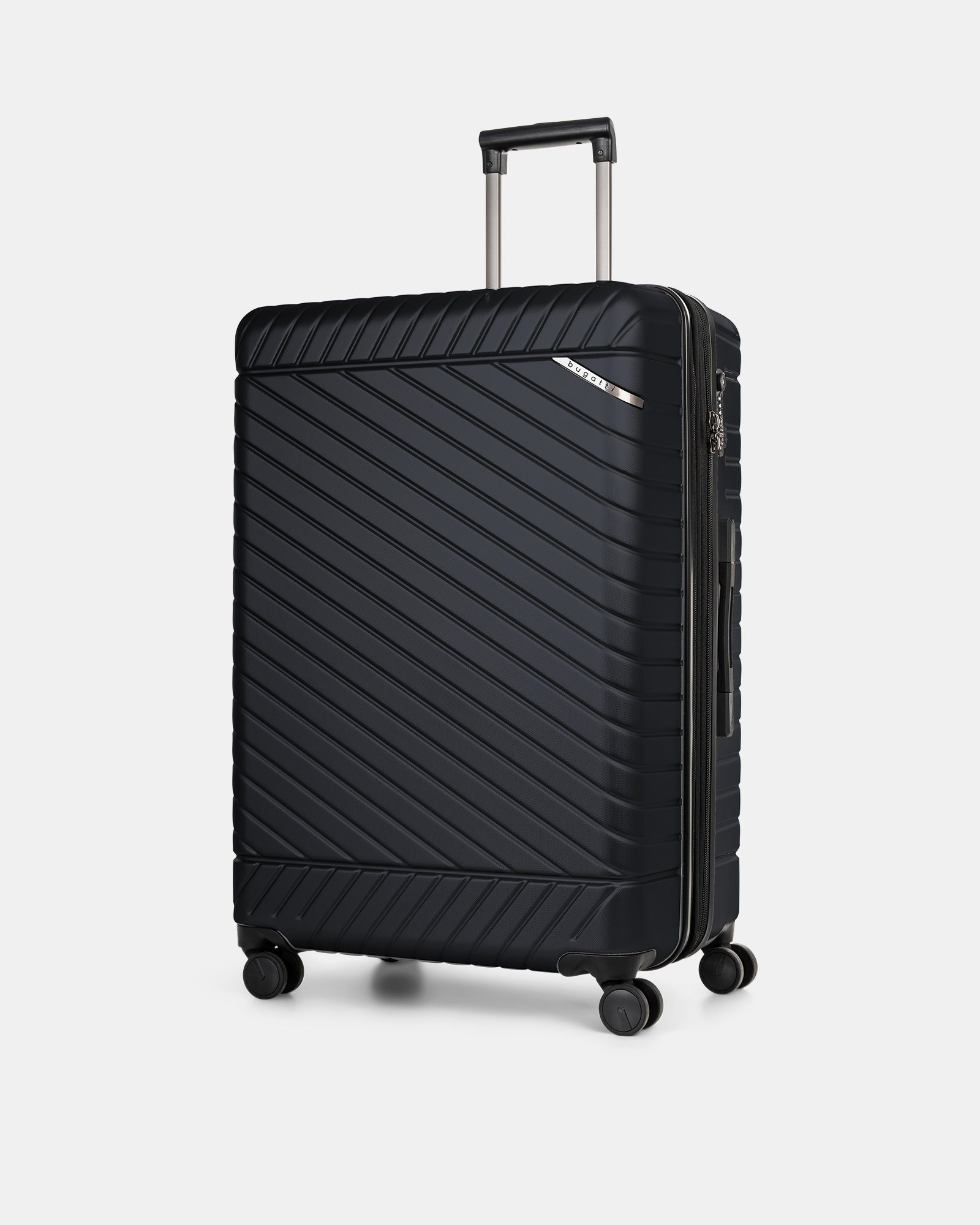 "MOSCOW -  30"" HARDSIDE CARRY-ON 100% POLYCARBONATE WITH TSA LOCK - NAVY - Bugatti - Zoom"