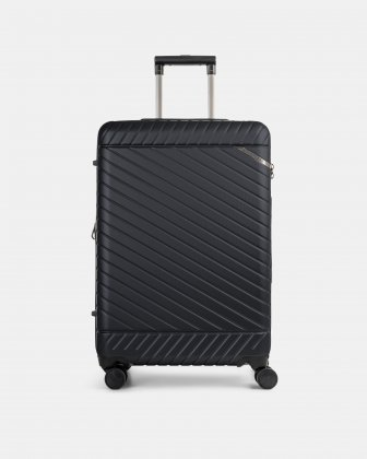 "MOSCOW -  25"" HARDSIDE CARRY-ON 100% POLYCARBONATE WITH TSA LOCK - NAVY Bugatti"