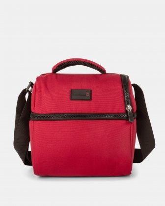 BondStreet - Cooler bag with thermos compartment - red Bondstreet