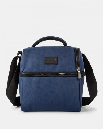 BondStreet - Cooler bag with thermos compartment - navy Bondstreet