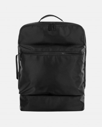 "Traveller - 15.6"" laptop Backpack with insulated zippered pocket - Black Bugatti"