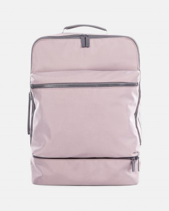 "Traveller  - 15.6"" laptop Backpack with insulated zippered pocket - Blush Bugatti"
