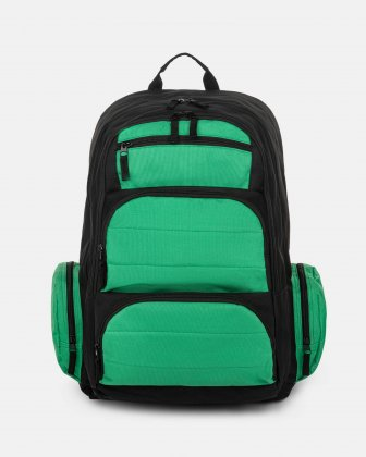 BONDSTREET - BACKPACK WITH 6 COMPARTMENTS - GREEN MULTI Bondstreet