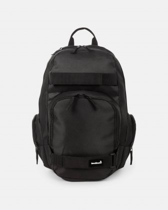 "BONDSTREET - 15.6"" computer Backpack with skate straps - Black Bondstreet"