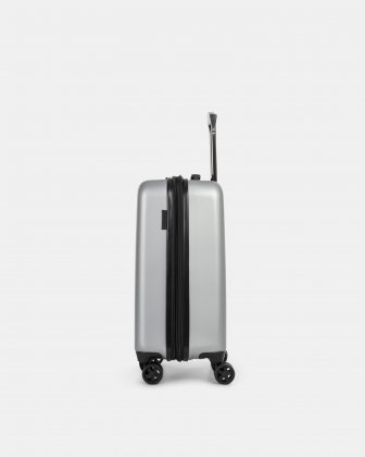 "LGA - 21.5"" LIGHTWEIGHT HARDSIDE CARRY-ON - SILVER - Swiss Mobility"