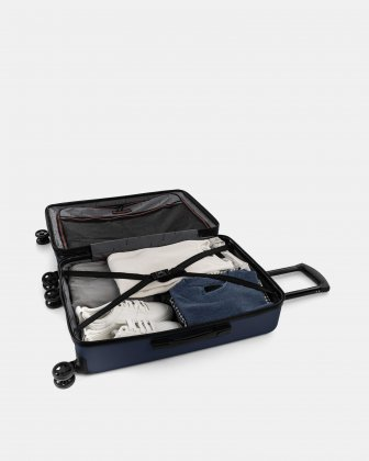 "LGA - 26"" LIGHTWEIGHT HARDSIDE LUGGAGE - NAVY Swiss Mobility"