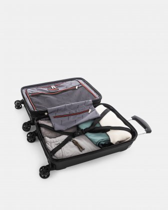 "PVG - 21.5"" LIGHTWEIGHT HARDSIDE CARRY-ON - BLACK Swiss Mobility"