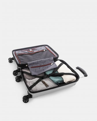 "PVG - 21.5"" LIGHTWEIGHT HARDSIDE CARRY-ON - SILVER Swiss Mobility"