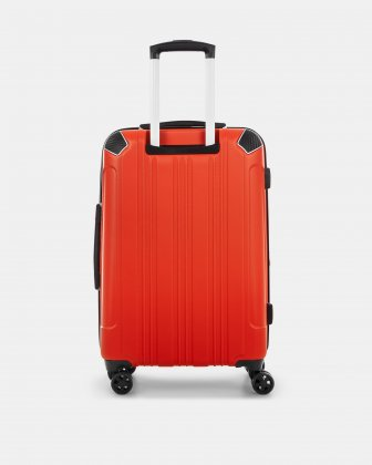 "PVG - 26"" LIGHTWEIGHT HARDSIDE LUGGAGE - RED - Swiss Mobility"