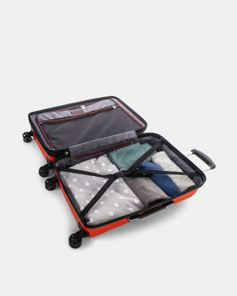 "PVG - 26"" LIGHTWEIGHT HARDSIDE LUGGAGE - RED Swiss Mobility"