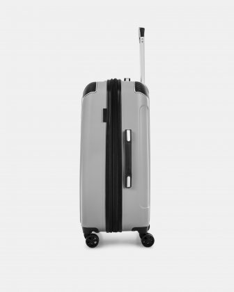 "PVG - 26"" LIGHTWEIGHT HARDSIDE LUGGAGE - SILVER - Swiss Mobility"