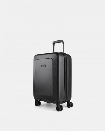 "MILANO - 21.5"" LIGHTWEIGHT CARRY-ON HARDSIDE WITH TSA LOCK - CHARCOAL Bugatti"
