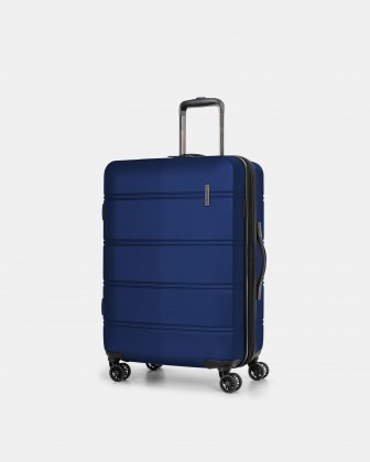 "LAX - 26"" LIGHTWEIGHT HARDSIDE LUGGAGE - BLUE Swiss Mobility"