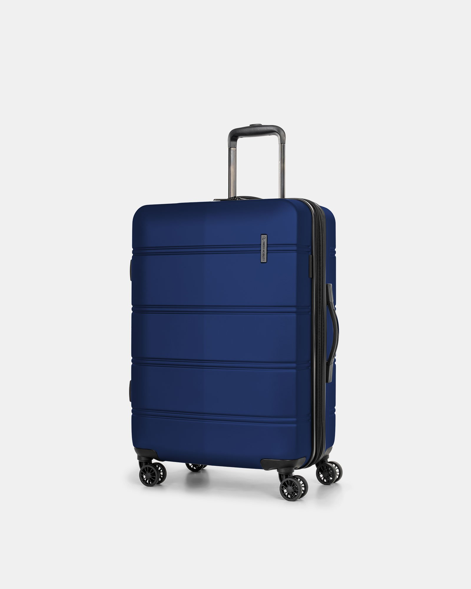 "LAX - 26"" LIGHTWEIGHT HARDSIDE LUGGAGE - BLUE - Swiss Mobility - Zoom"