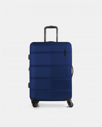 "LAX - 26"" LIGHTWEIGHT HARDSIDE LUGGAGE - BLUE - Swiss Mobility"