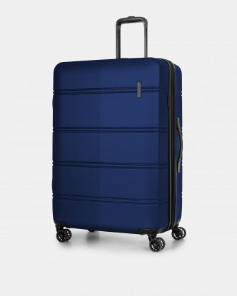 "LAX - 30"" LIGHTWEIGHT HARDSIDE LUGGAGE - BLUE Swiss Mobility"