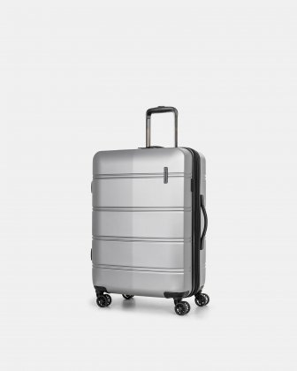"LAX - 26"" LIGHTWEIGHT HARDSIDE LUGGAGE - SILVER Swiss Mobility"