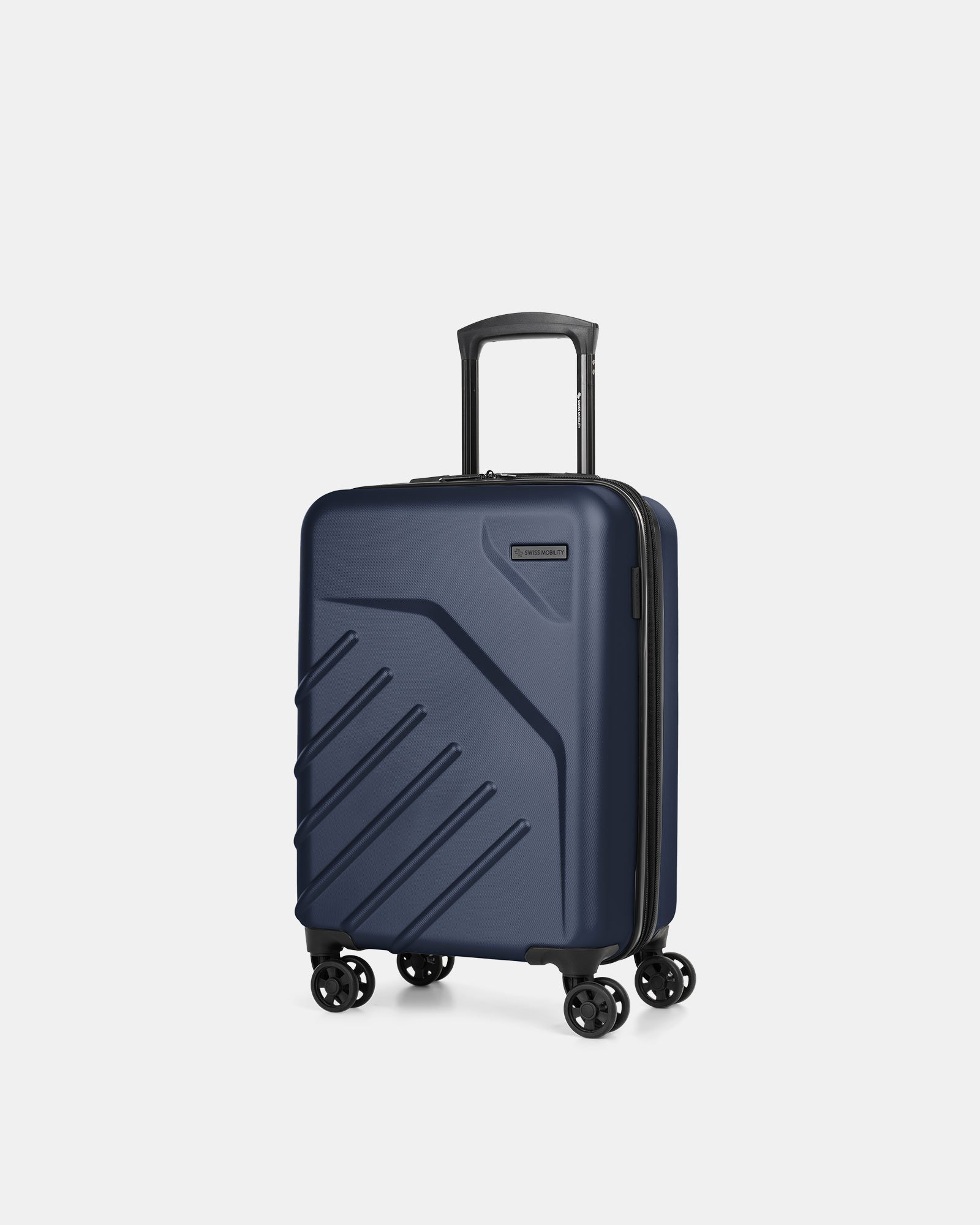 "LGA - 21.5"" LIGHTWEIGHT HARDSIDE CARRY-ON - NAVY - Swiss Mobility - Zoom"