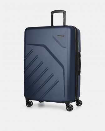 "LGA - 30"" LIGHTWEIGHT HARDSIDE LUGGAGE - NAVY Swiss Mobility"