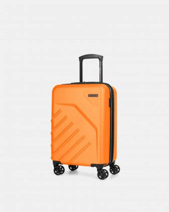 "LGA - 21.5"" LIGHTWEIGHT HARDSIDE CARRY-ON - Orange Swiss Mobility"