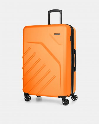 "LGA - 30"" LIGHTWEIGHT HARDSIDE LUGGAGE - ORANGE Swiss Mobility"