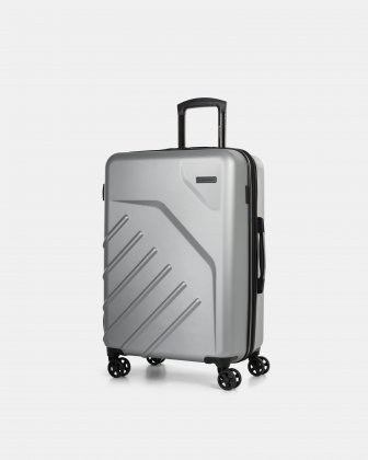 "LGA - 26"" LIGHTWEIGHT HARDSIDE LUGGAGE - silver Swiss Mobility"