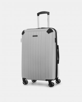 """PVG - 30"""" LIGHTWEIGHT HARDSIDE LUGGAGE - SILVER Swiss Mobility"""