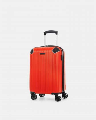 "PVG - 21.5"" LIGHTWEIGHT HARDSIDE CARRY-ON - Red Swiss Mobility"