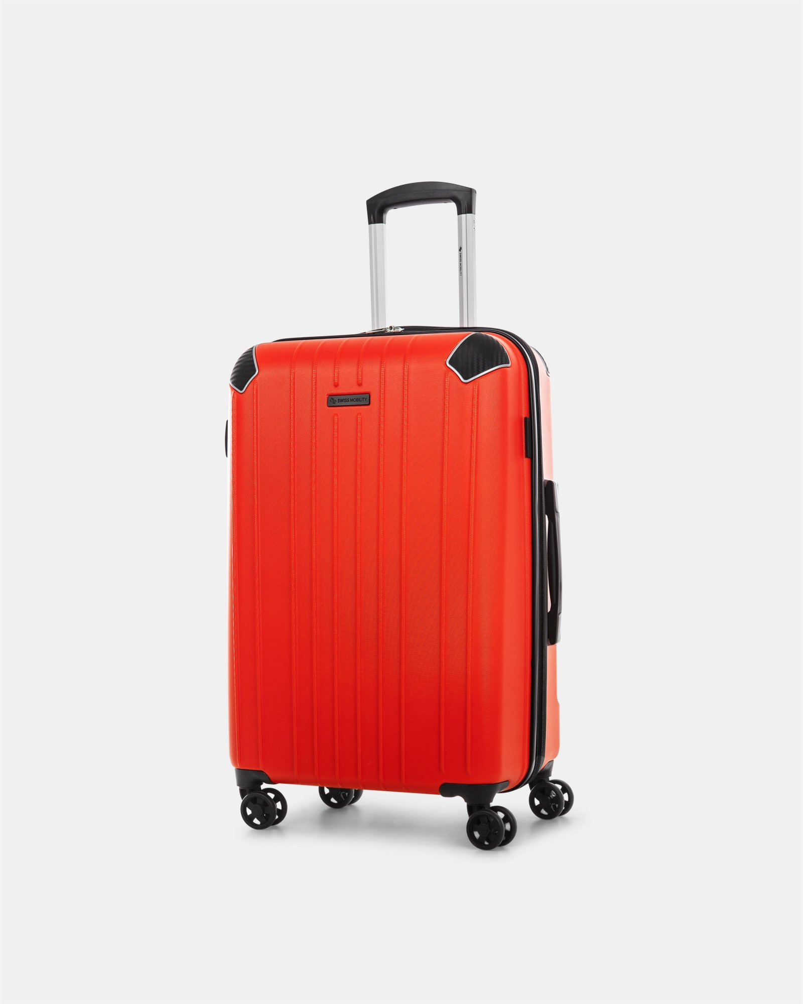"PVG - 26"" LIGHTWEIGHT HARDSIDE LUGGAGE - RED - Swiss Mobility - Zoom"