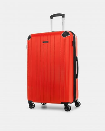 "PVG - 30"" LIGHTWEIGHT HARDSIDE LUGGAGE - RED Swiss Mobility"