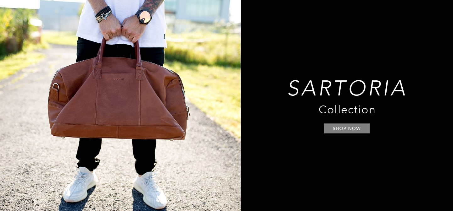Duffle bag from the Sartoria collection