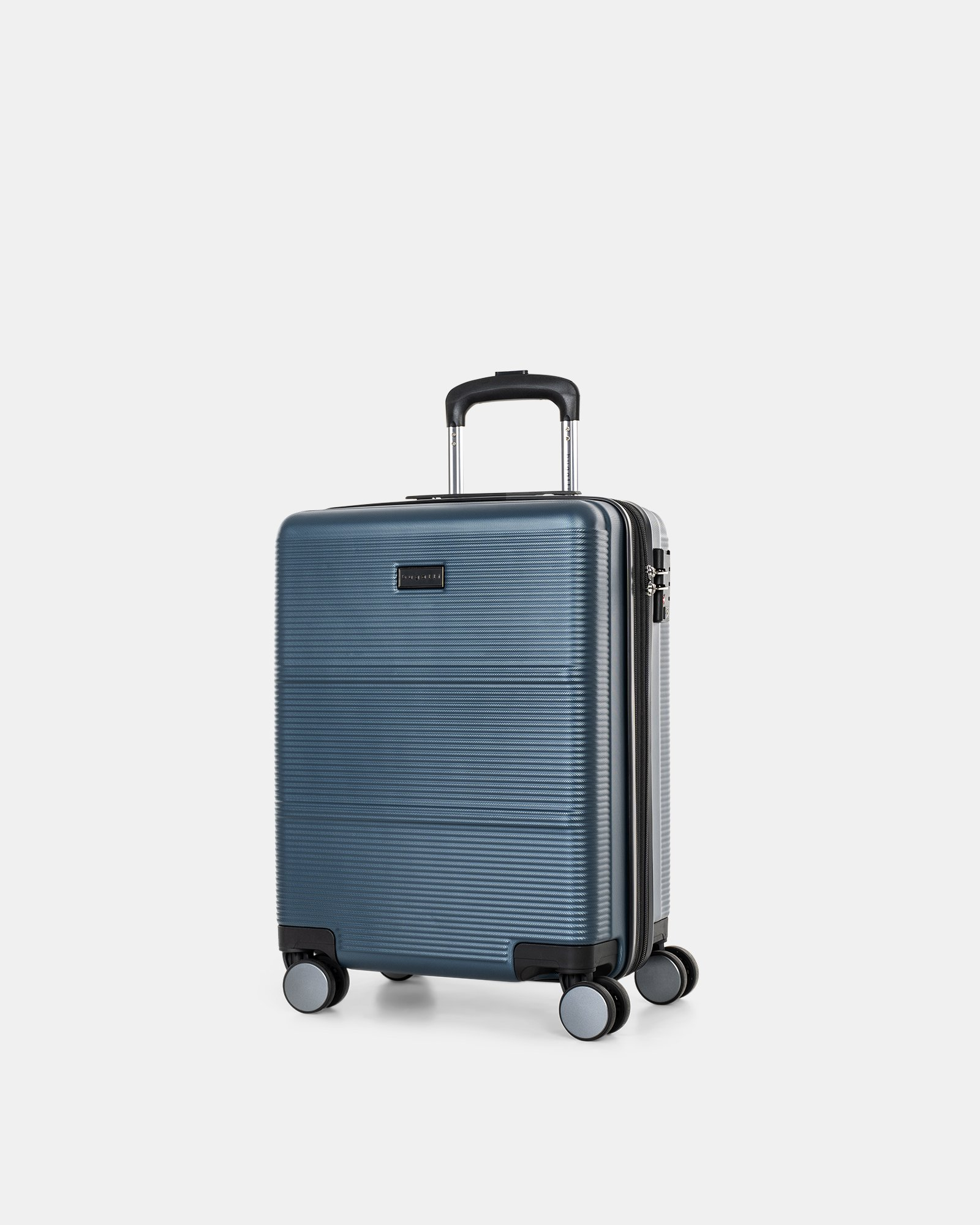 "BRUSSELS - 21.5"" HARDSIDE CARRY-ON WITH TSA LOCK - STEEL BLUE - Bugatti - Zoom"