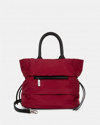 Hi Cloud - Tote bag with Main zippered compartment - Bordeaux Joanel