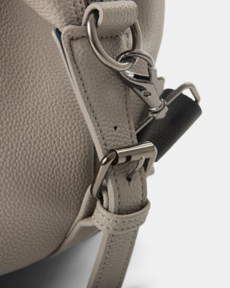 Contrast - Duffle Bag with Adjustable and removable shoulder strap - Grey - Bugatti