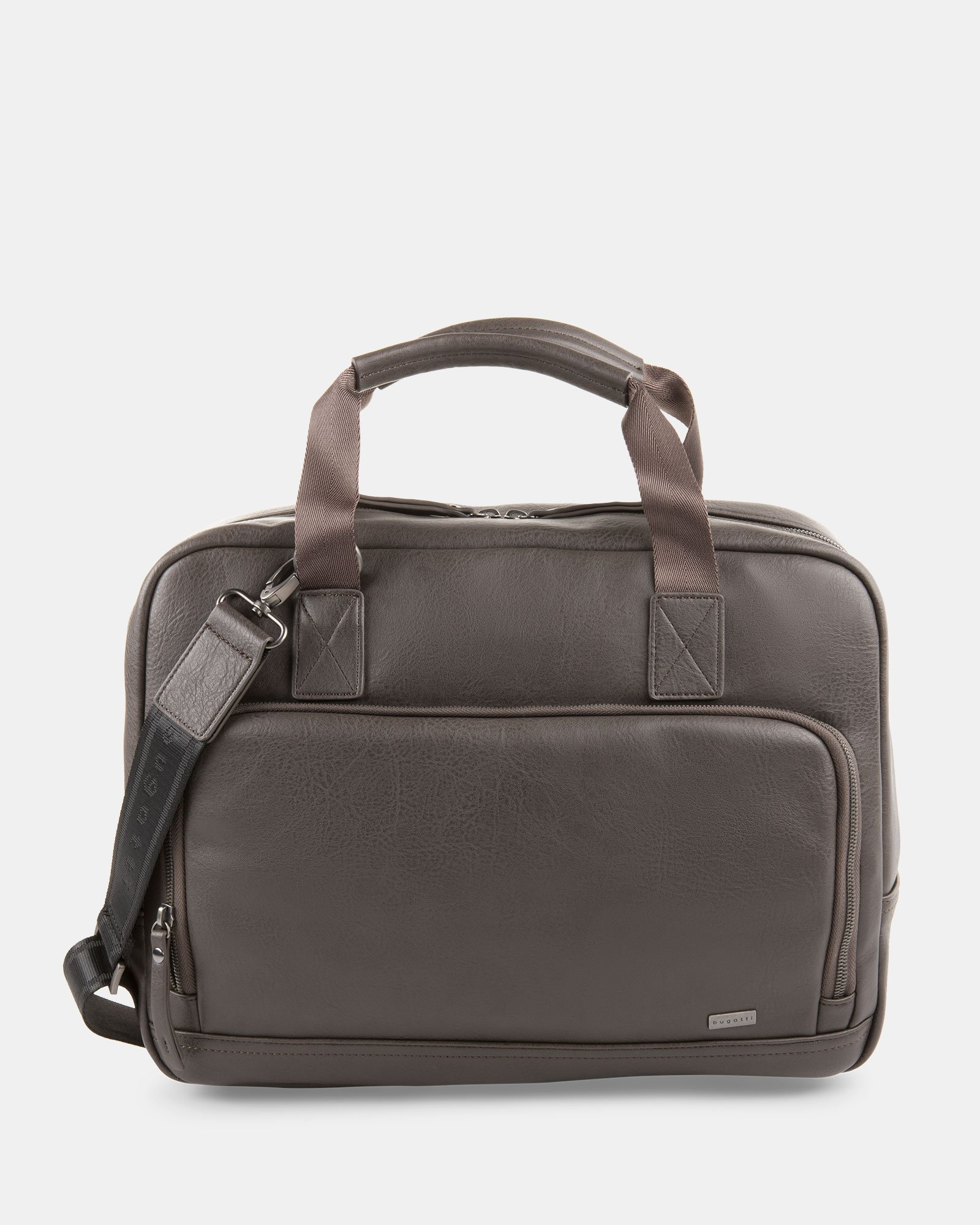Executive Briefcase FOR 15.6 COMPUTER AND RFID PROTECTION - Stone  - Bugatti - Zoom