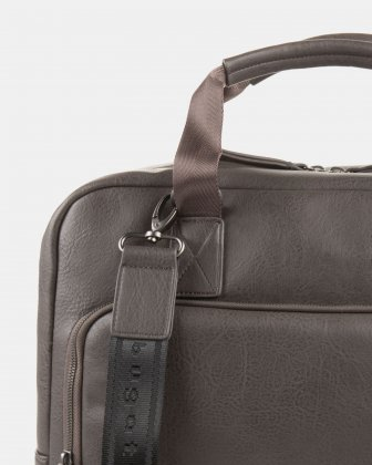 Executive Briefcase FOR 15.6 COMPUTER AND RFID PROTECTION - Stone  - Bugatti
