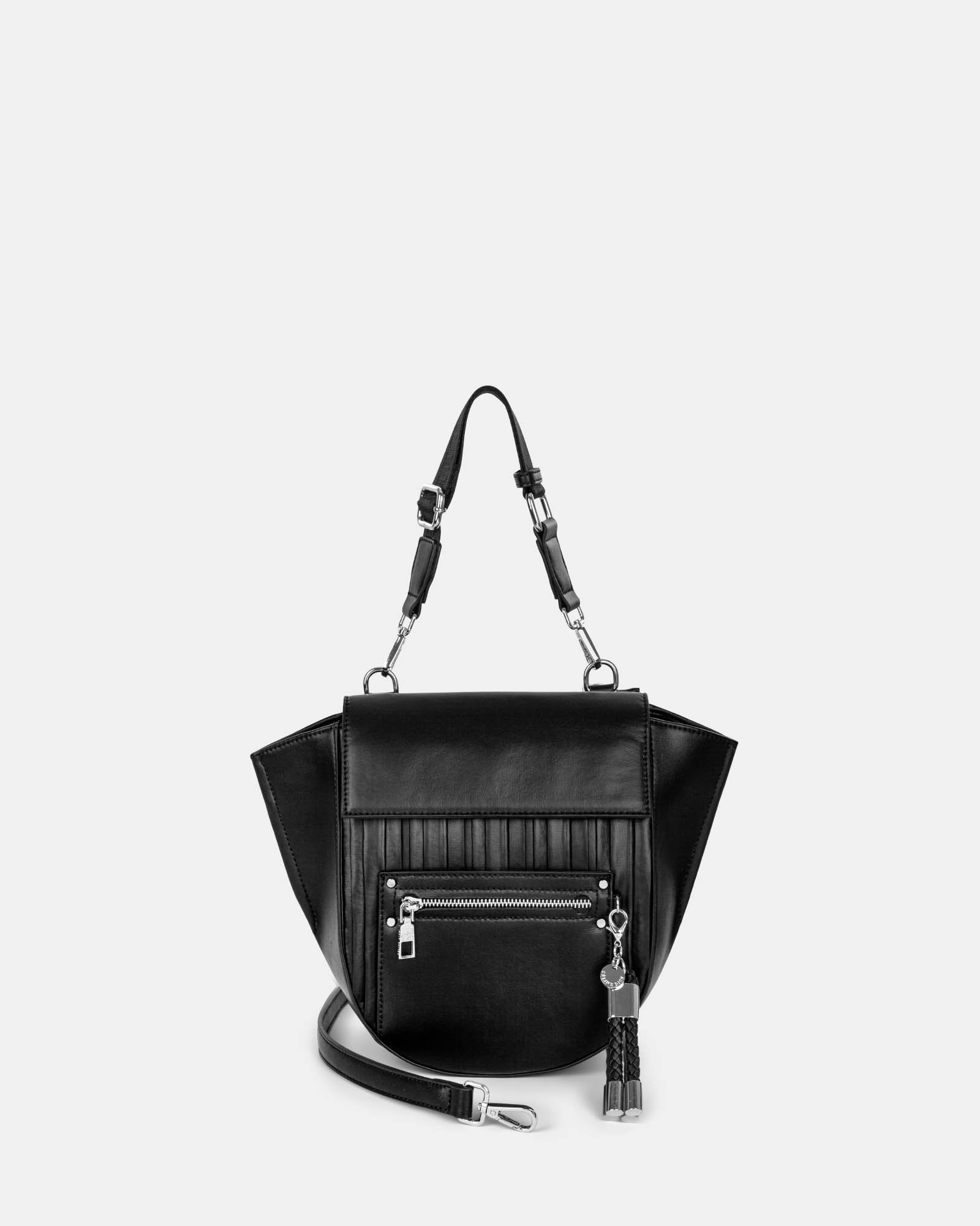 Largo - Handle bag with Adjustable and removable - Black - Céline Dion - Zoom