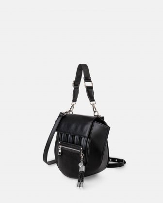 Largo - Handle bag with Adjustable and removable - Black - Céline Dion